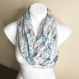 Never worn Talbots Floral Print Scarf